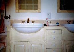 Wooden Bathroom Cupboard