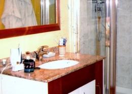 Bathroom Sink and cupboard