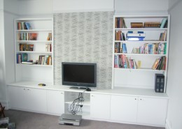 Shelves and TV cupboards