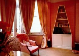 Triangular Cupboard and Shelves