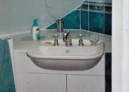 Bathroom Cupboard in roof space