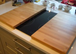 Chopping board and hob cover