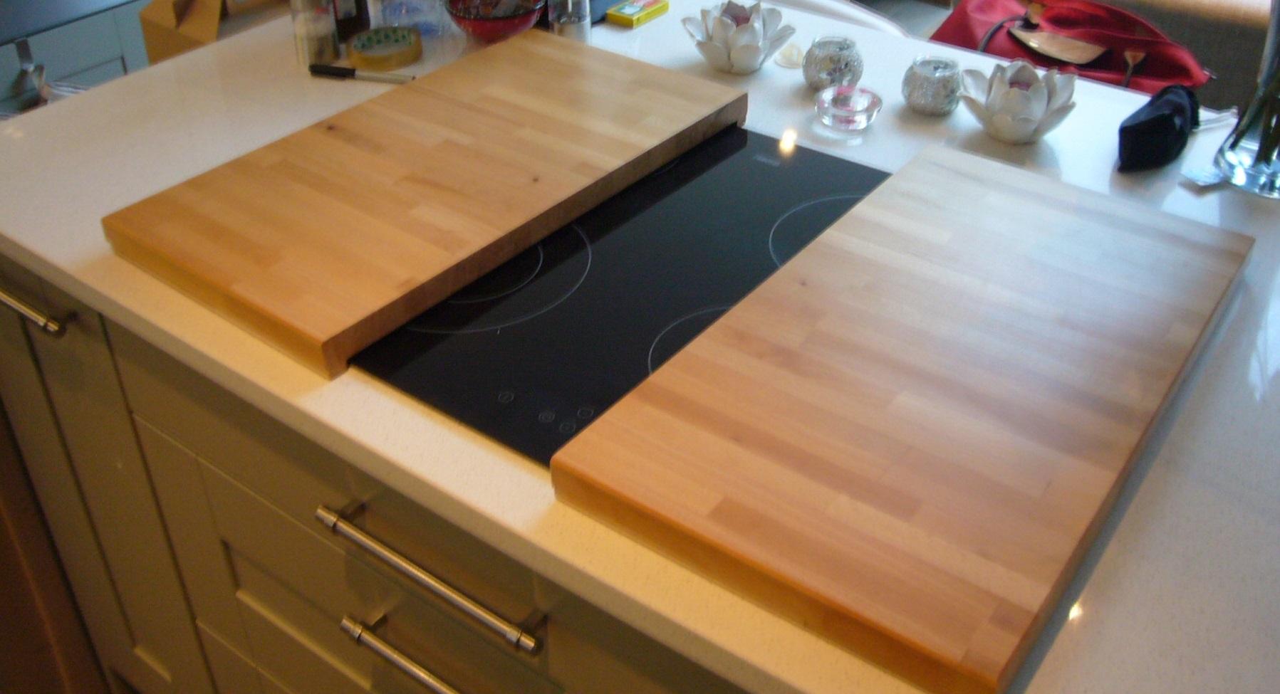 Chopping Board Hob Cover Jms Bespoke Space