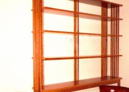 cherry Macintosh period bookcase