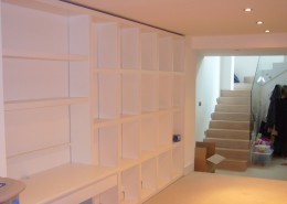 Childs play area with storage a