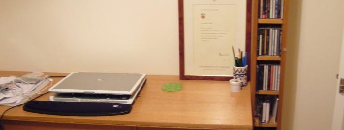 Oak study furniture