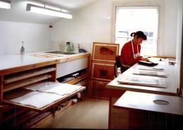 Picture restoration studio