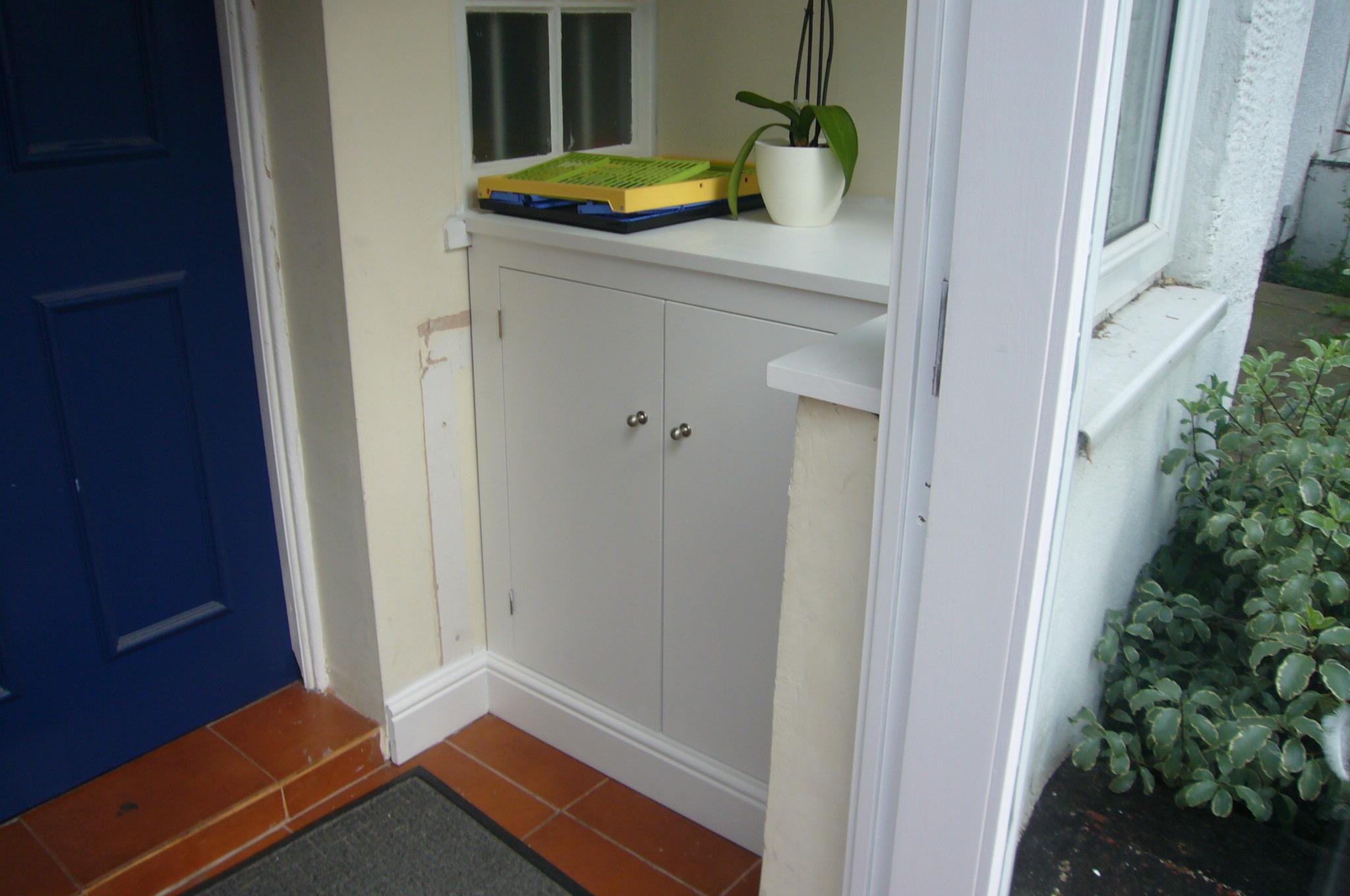 Porch Storage Cupboard - JMS Bespoke Space