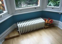 Radiator pipe covering